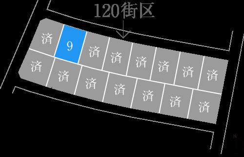 ひびきの土地120街区図