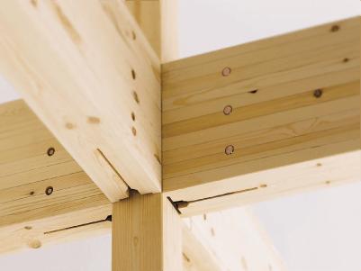 耐震構法SE構法の構造用集成材