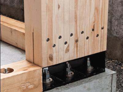耐震構法SE構法の土台