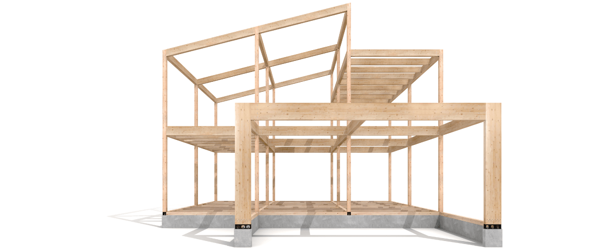 耐震住宅を支えるSE構法の構造躯体