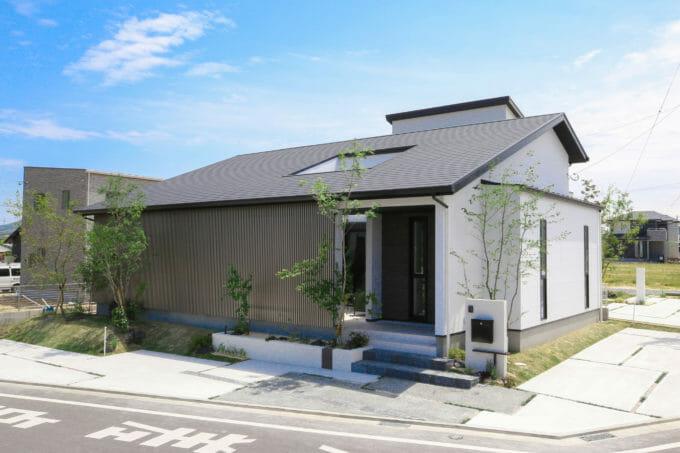 北九州の平屋の注文住宅施工事例1