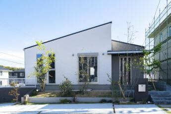 注文住宅、北九州の平屋施工事例